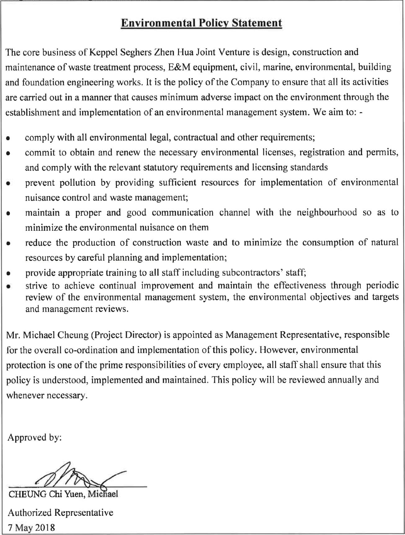4 waste management procedure